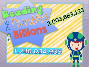 Numbers to the Billions