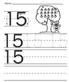 Numbers traceable worksheets printable writing pages,Kinde