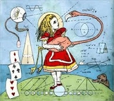 Numbers with Alice in Wonderland