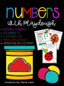 Numbers with Playdough