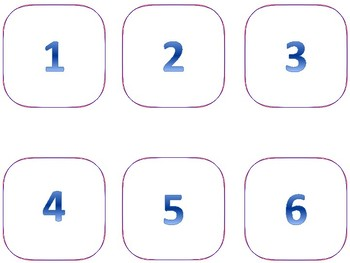 Numbers with words Flashcards