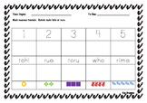 Maori numbers (tohu, kupu, roopu)