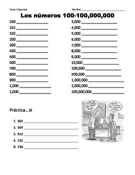 Numbers/Los números