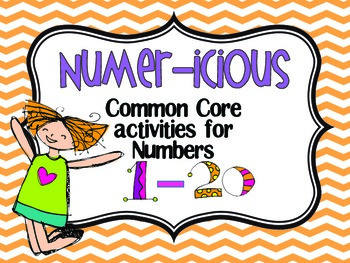 Numer-icious {Common Core activities for numbers 1-20}