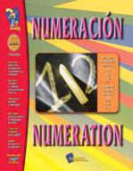 Numeracion/Numeration - A Bilingual Skill Building Workbook (Enhanced eBook)