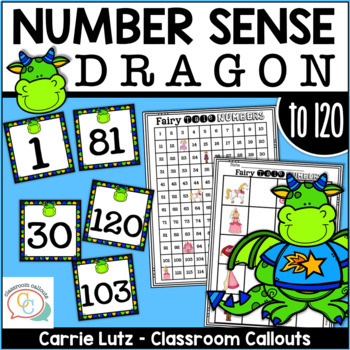 Numeracy Activities ~ with 120 Card Deck - Dragon Themed