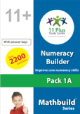 Numeracy Builder - Pack 1A