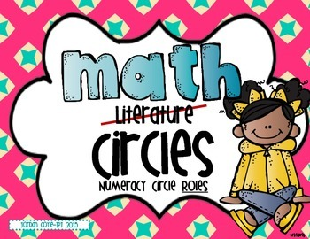 Numeracy Circle Roles