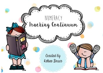 Numeracy Continuum Tracking Template