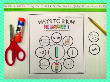 Numeracy Counts {Printable Practice for Numbers 1-20}