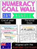 Numeracy Goal Wall Year 3 & 4 *Aligned with the Australian
