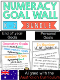 Numeracy Goal Wall K-2 *Aligned with the Australian Curriculum*