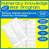 Numeracy Knowledge Program Grades 5 and 6 Growing Bundle Offer