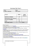 Numeracy/Maths Practice Test Paper - Year 5 - Curriculum S