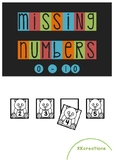 Numeracy: Missing numbers, before and after
