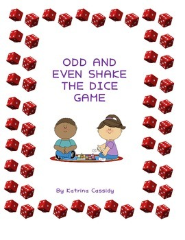 Numeracy - Roll the dice odd and even game