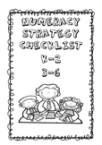 Numeracy Strategy Checklists