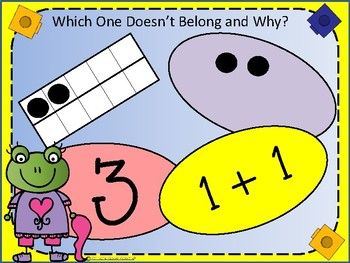 Numeracy - Which One Doesn't Belong and Why