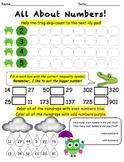 Numeracy Worksheets! (4 Week Bundle)