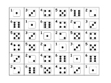 Numeral 1-6 Review Game