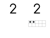 Numeral Cards ~ 0 to 20 with 10 frame