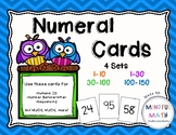 Numeral Cards 1 to 150