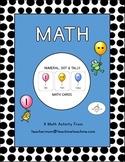 Numeral, Dot & Tally Balloon Cards