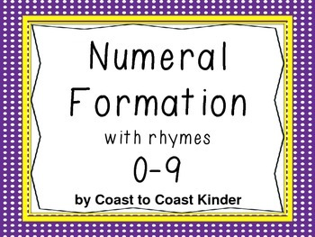 Numeral Formation with Rhymes