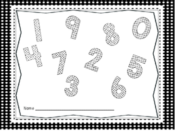 Numeral Formations 0-9 with Rhymes