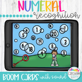 Numeral Hunt with Boom Cards Distance Learning