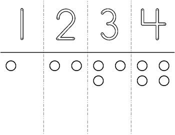 Numeral & Quantity 1 to 10 Booklet