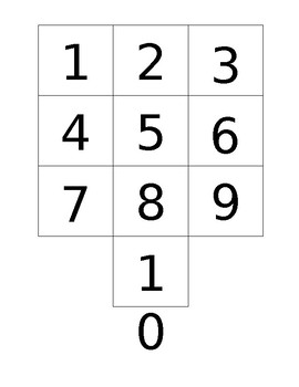 Numeral/Ten Frame Memory Game