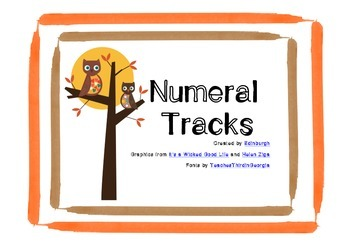 Numeral Tracks - practise numbers before and after