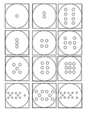 Numeral, Word From & Quantity Math Match-it Cards