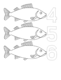 Numeral fish mats
