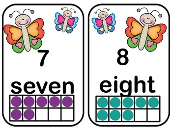 Numerals! Number Words! Ten Frames! Puzzles and Activities