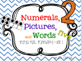 Numerals and Pictures and Words
