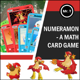 Numeramon - A Math Card Game (inspired by the Pokemon Trad