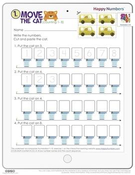 Numeration 1-10 Set 1 (Free!)
