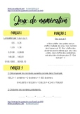 Numération 1 ! Exercices + Aide + Corrigé