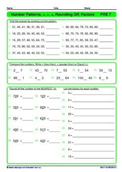 Numeration Book 2 - 100+ pages