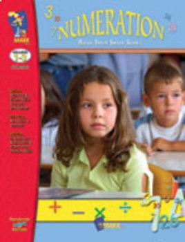 Numeration Practice: Build Their Skills Workbook Grades 1-3