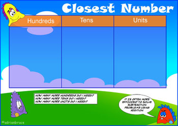 Numeration Game - Closest Number