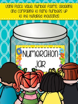 Numeration Jar Up to Hundred Thousands
