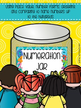 Numeration Jar Up to Hundreds