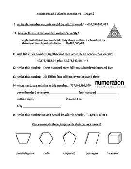 Numeration Numeration