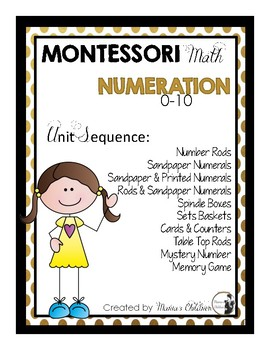 Numeration Unit Sequence