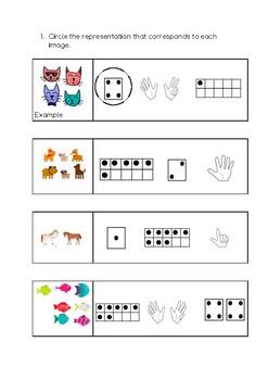 Numeration worksheets