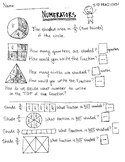 Numerator Concept Worksheet