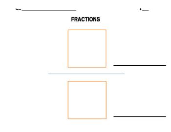 Numerator/Denominator Template